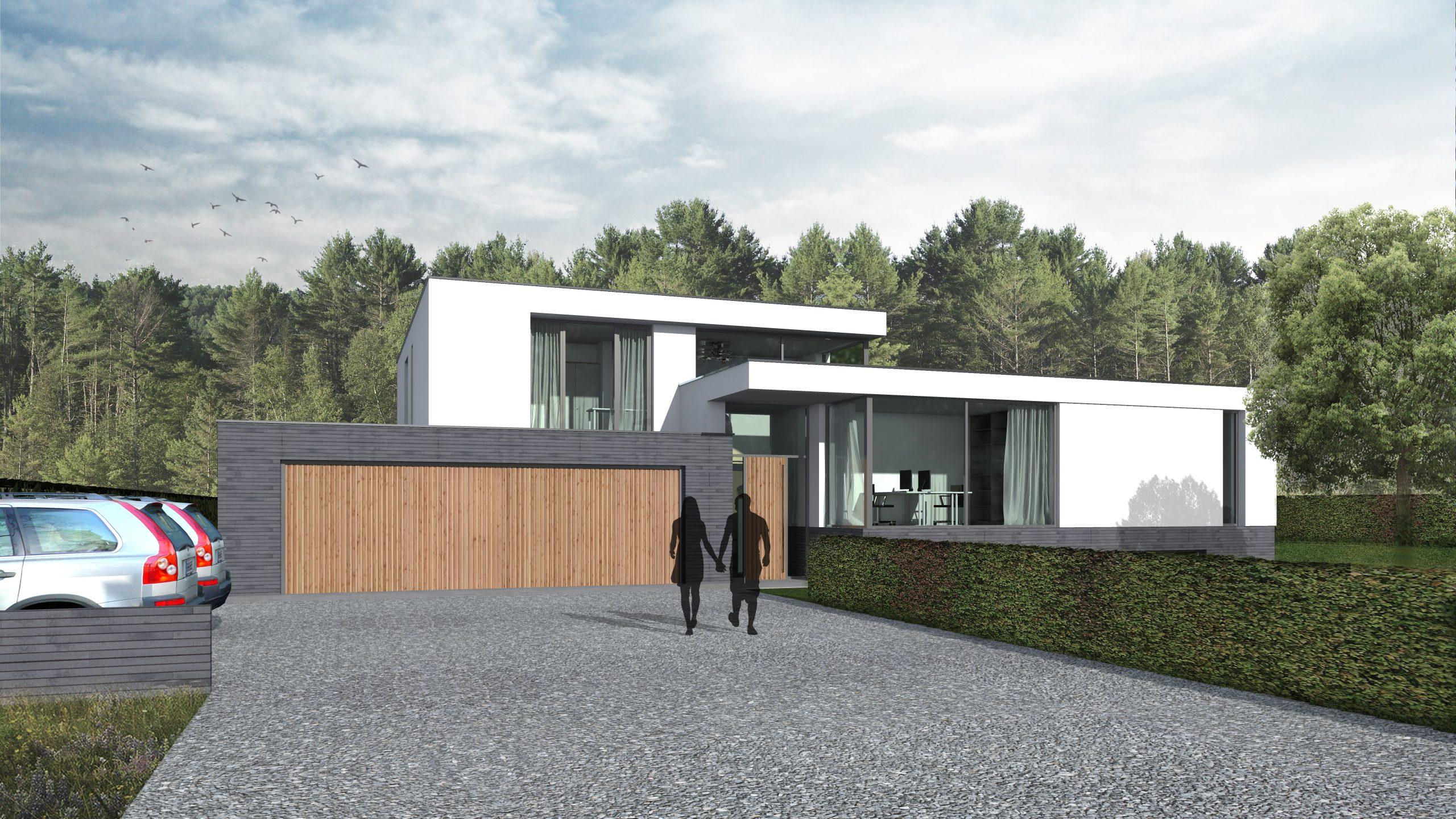 moderne villa architect