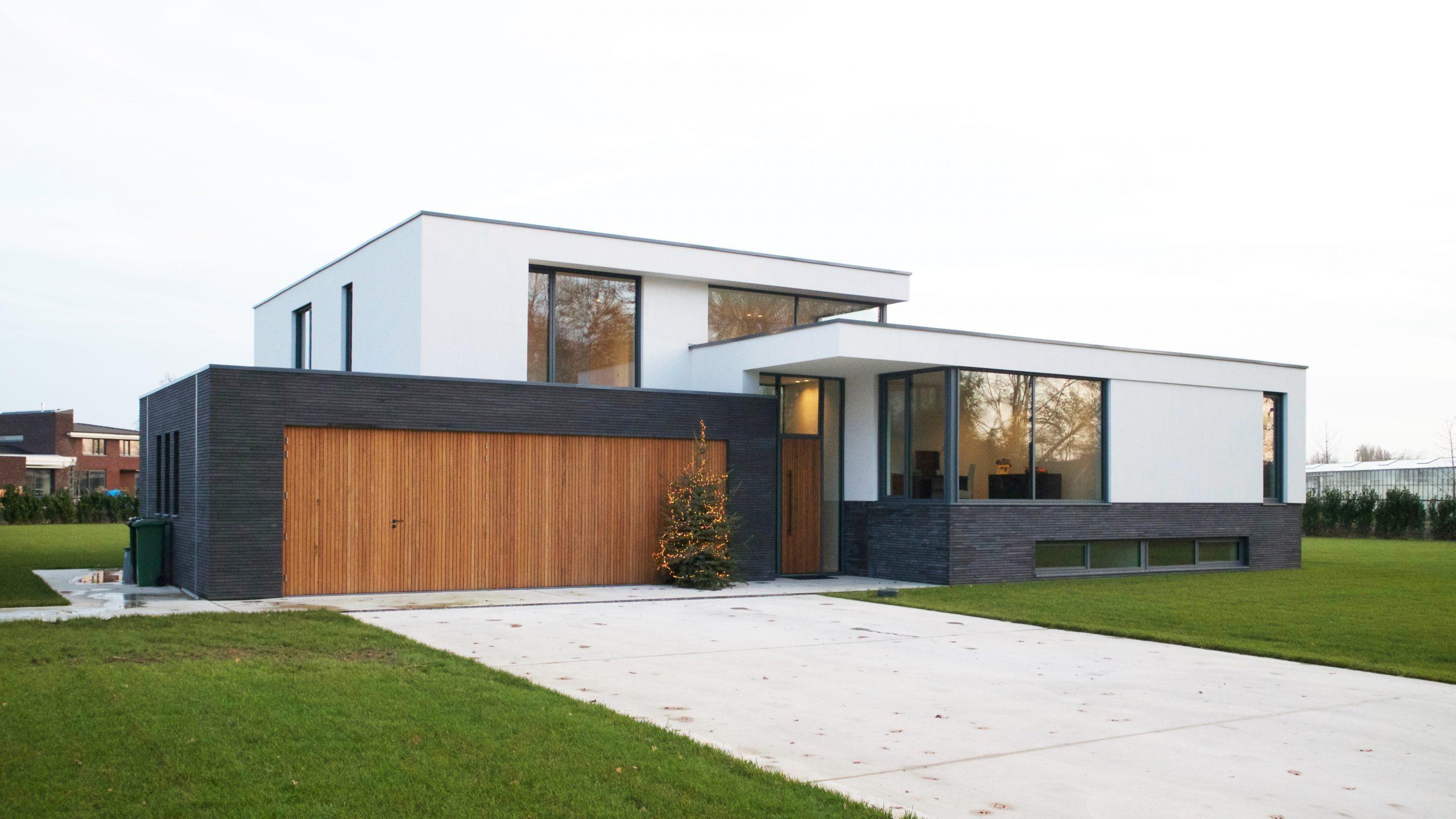 villa modern stucwerk architect baarlo eindhoven oosterbeek nijmegen waalre