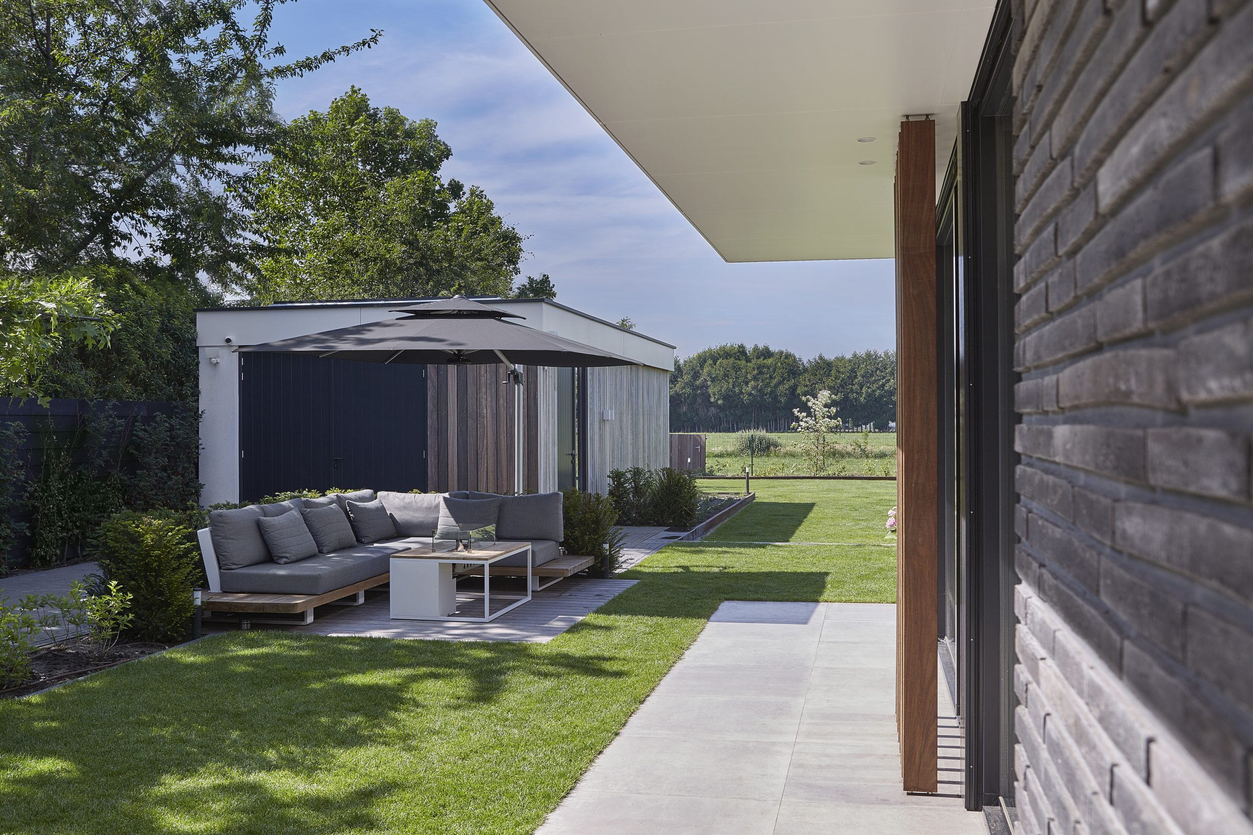 villa modern riet