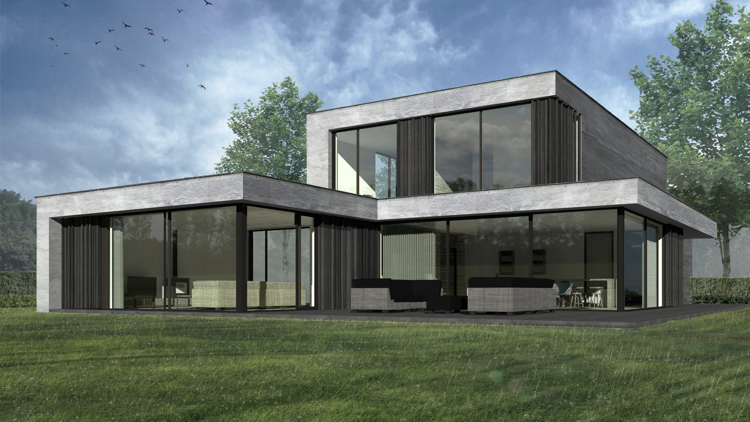 villa OHF boxtel swkls architects