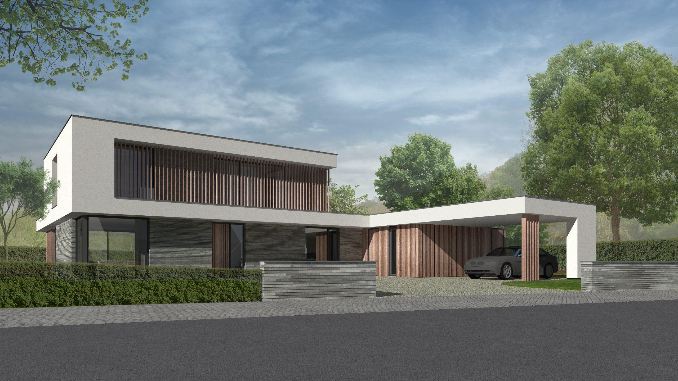 nieuwbouw villa Venray, architect modern