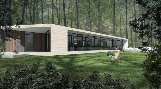 luxe bungalow villa architect